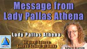 Message from Lady Pallas Athena