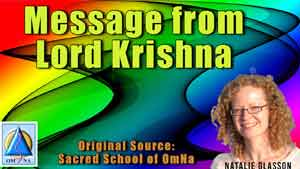 Message from Lord Krishna