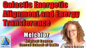 Galactic Energetic Alignment and Energy Transference with Melchior
