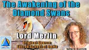The Awakening of the Diamond Swans by Lord Merlin