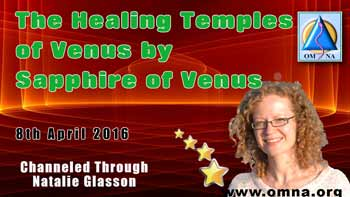 The Healing Temples of Venus by Sapphire of Venus