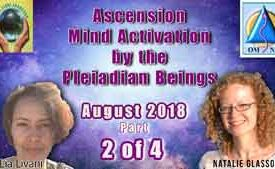 Light Language Ascension Mind Activation by the Pleiadian Beings Part 2 of 4
