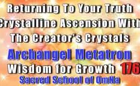 Returning To Your Truth Crystalline Ascension With The Creator's Crystals
