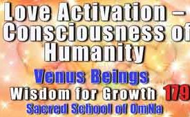 Love Activation – Consciousness of Humanity