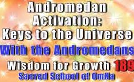 Andromedan Activation: Keys to the Universe