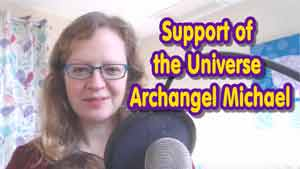 Support of the Universe by Archangel Michael